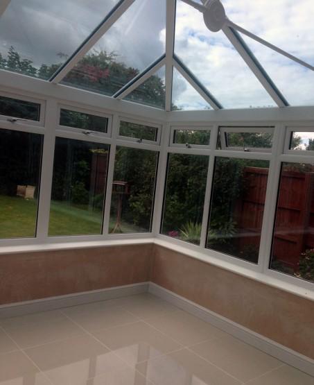 Conservatory Install Rob Hall Windows and Doors