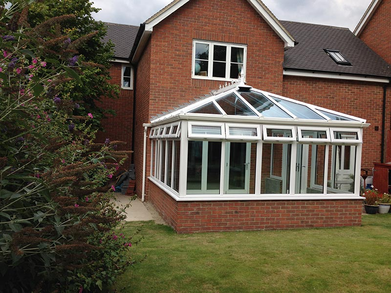 Conservatory Install Hall & Jones Windows, Doors