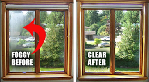 Misted Double Glazing Window Repair