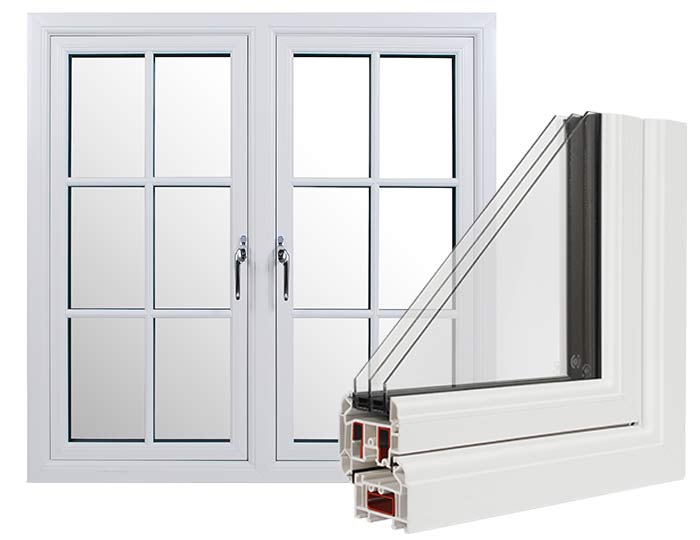 Rustique3 Triple Glazing Windows