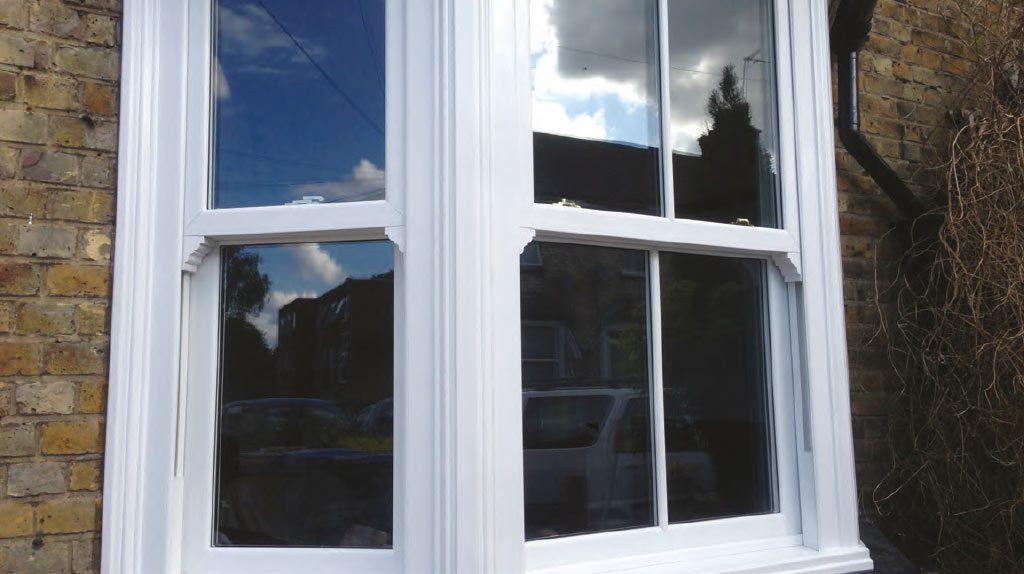 authentic uPVC sash window