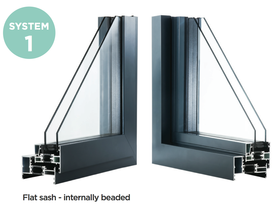 System 1 - Aluminium Casement Windows, Newent, Gloucestershire