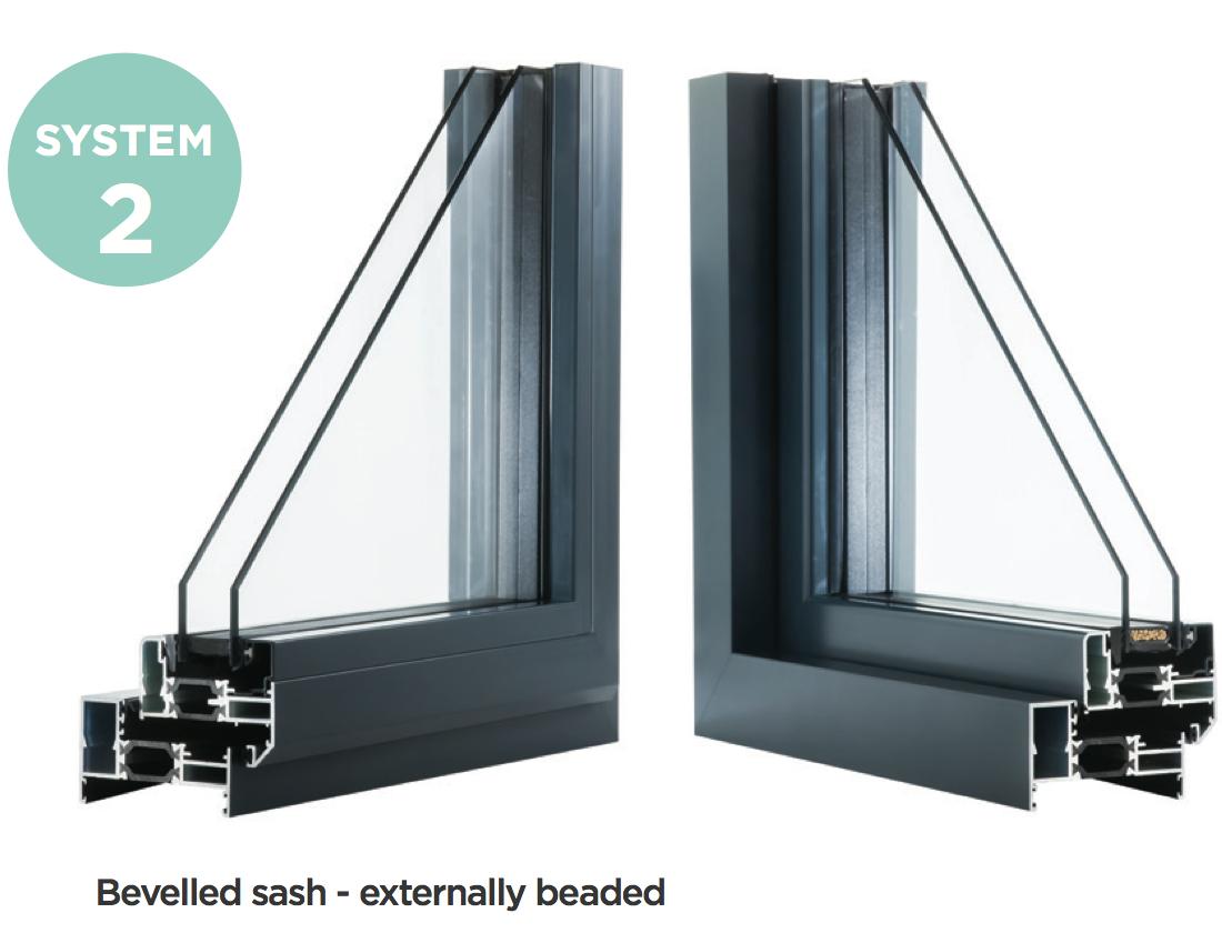 System 2 - Aluminium Casement Windows, Newent, Gloucestershire