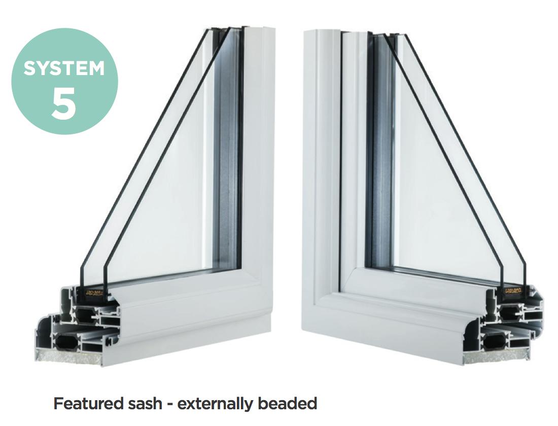 System 5 - Aluminium Casement Windows, Newent, Gloucestershire